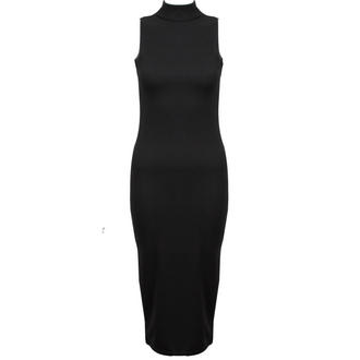 View Item Black Sleeveless Bodycon Midi Dress
